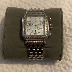 Michele Deco Watch Diamonds
